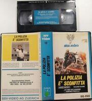La Polizia è Sconfitta (Star Video) - VHS