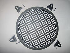 "10"" Subwoofer Sub Box Speaker Grill Cover,  Clamps & Screws (BRITISH MADE)"