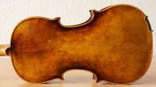 old violin 4/4 geige viola cello fiddle label GAETANO GADDA