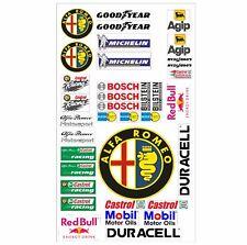 Alfa Romeo Logo Autoaufkleber Sponsoren Marken Aufkleber Decals Tuning