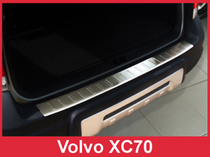 2004 - 2007 Volvo XC70 - Stainless Steel Rear Bumper Protector Guard
