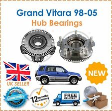 For Grand Vitara 2.0TD 1.6 2.0 2.5 2.7 GV2000 98-05 TWO Front Wheel Hub Bearings