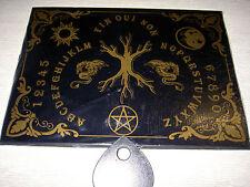 lámina de sí - ja l´arbre sagrado (Yggdrasil) negro, en el lenguaje francesa