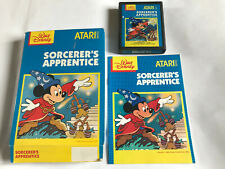 Sorcerer's Apprentice / Boxed With Instructions / Atari 2600 Tested 7800