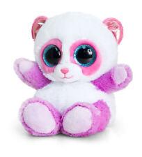PLUSH ANIMOTSU PINK/LILAC PANDA BY KEEL TOYS 15cm VERY SOFT AND CUDDLY BEANIE