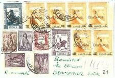 73757 - ANGOLA - POSTAL HISTORY - fantastic franking on COVER to SWEDEN 1963