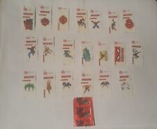 Spiderman Dubble Bubble Stickers 1995 canadian