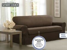 MAYTEX SMART COVER/1 Piece Sofa Stretch Cover/New In PKG. Sage/TEXTURED-SOFT!