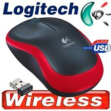 Logitech Funk Maus M185 kabellos red 2,4 GHz Nano  USB / Wireless - NEU
