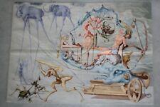 Salvador DALI Tapisserie Le char de Bacchus (52980)