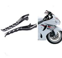 Hayabusa GSXR 1000 Chrome Smooth Python Short Kickstand Kick Stand Lowered Bike
