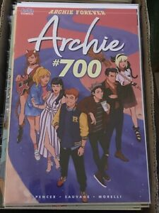 ARCHIE 700 COVER G AUDREY MOK FOREVER betty & veronica variant jughead riverdale