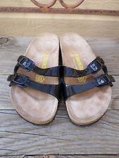 Birkenstock Black 2 Strap Sandals Women's 7 N / 38