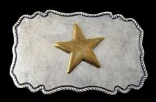 WESTERN TEXAS LONE STAR COWGIRL COWBOY BELT BUCKLE BOUCLE DE CEINTURE