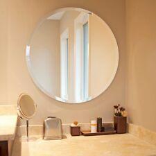 Howard Elliott Wall Mirror 28 x 28 Round Frameless Entryway Bathroom Bedrrom New