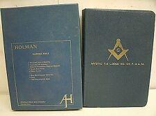Holman Masonic Bible Illustrated - Mystic Tie Lodge No. 194 F. & A.M