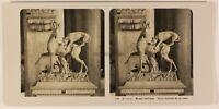Italia Roma Vaticano Museo Soprammobile c1905 Foto Stereo Vintage Analogica