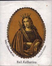 Heilige Katharina Andachtsbild Schlittke Tomaselli Wien Österreich (O-5618