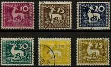 WÜRTTEMBERG, OFFICIALS, COMPLETE SET, YEAR 1920, USED, (SU078)