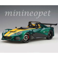 AUTOart 75392 LOTUS 3-ELEVEN 1/18 MODEL CAR GREEN with YELLOW ACCENTS