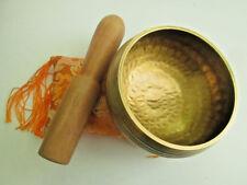 Hand Hammered Tibetan Singing Bowl for Meditation and Healing