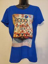 Custom Art To Wear Pop T Tee Shirt Numerology Quantuum Magic Fae Womens SZ L