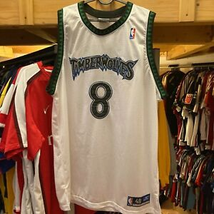 AUTHENTIC Minnesota Timberwolves Latrell Sprewell NBA jersey Reebok size 48