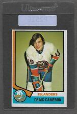 ** 1974-75 OPC Craig Cameron #263 (EXMT) Hockey Card Set Break ** P2516
