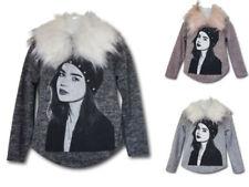 Markenlose Mädchen-Pullover & -Strickware aus Baumwollmischung in Größe 98
