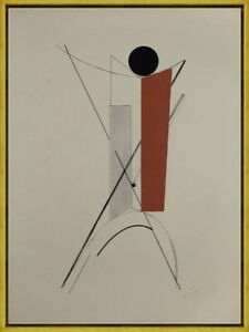 Framed El Lissitzky Hannover #3 Giclee Canvas Print Paintings Poster