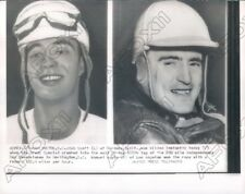 1954 Independence Day Sweepstakes Race Bob Scott & Manuel Ayulo Press Photo