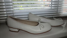 LAURA ASHLEY VINTAGE LEATHER WHITE SHOES - EU 41 UK  7