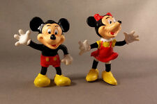 Mickey & Minnie Mouse Walt Disney Hong Kong Vinyl Cartoon Character Toys