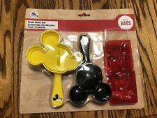 Disney Eats Mickey Mouse Food Mold Set New