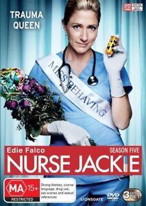 Nurse Jackie : Season Five : 3 Disc : New Old Aus Stock : NEW DVD