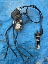 2004 04 Honda Crf450r Crf 450r 450 Keihin FCR Carburetor Carby Carb Throttle
