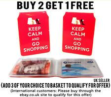 BANKSY SWEATSHOP BUS PASS CREDIT TRAVEL RAIL SLIM WALLET FOR OYSTER CARD
