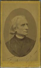 Franz Liszt (Composer/Pianist): Signed Photograph