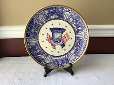 Vintage Alvin Fine China Bicentennial Porcelain Plate, 1976 Limited Edition
