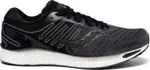 Saucony Men's Freedom ISO 3 Running Shoes, Black/White, 9 D(M) US