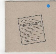 (EZ512) Toy Horses, 4 track sampler - DJ CD