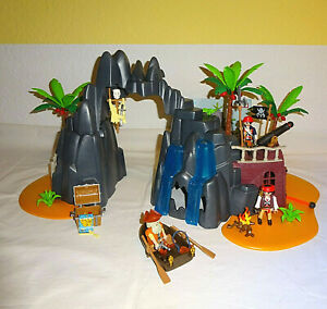 Playmobil 6679 Piraten Schatzinsel Pirateninsel Treasure Island