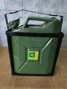 Brand New Ford Willys Jeep jerry Can Green Colour with holder (20 Liter)