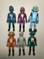 1978 Starroid Raiders Action Figure Space Fighters Tomland Rare! Lot of 6