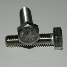 50 Edelstahl Sechskant-Schrauben M10x35 A2 DIN933  V2A