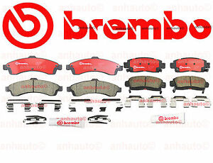 Brembo Performance Premium Ceramic  Brakes Front & Rear Buick Chevy GMC