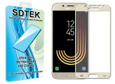 SDTEK Full Screen Glass Protector for Samsung Galaxy J5 (2017) [Gold]