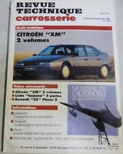 CITROEN XM Revue technique CARROSSERIE RTA 126 1990 LADA SAMARA RENAULT 25 PH 2