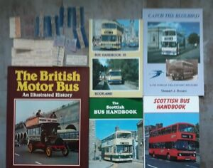 5 x Bus Books + old tickets