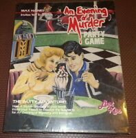 Max Haines AN EVENING OF MURDER Party Game Party Adventure Just Kiss New Sealed
